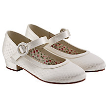 Buy Rainbow Club Aubree Bridesmaids' Shoes, Ivory Online at johnlewis.com