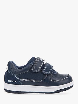 d6020a2905372 Geox Children's B New Flick Double Riptape Shoes, ...