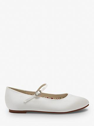 Rainbow Club Binx Bridesmaids' Shoes, Ivory