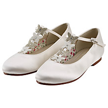 Buy Rainbow Club Kady Bridesmaids' Shoes, Ivory Online at johnlewis.com