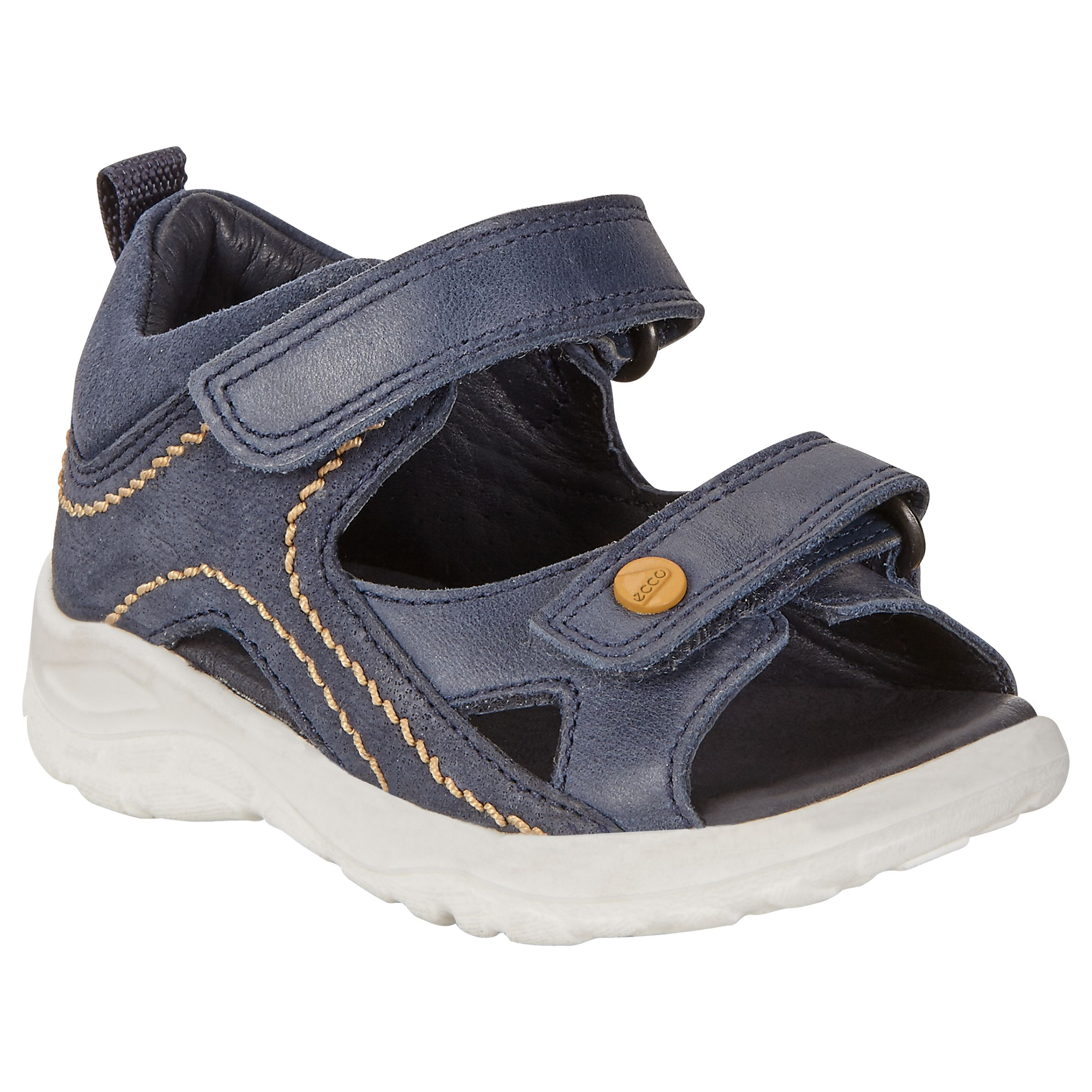 54237754f8023 ECCO Children's Peekaboo Sandals at John Lewis & Partners