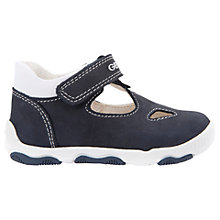 Buy Geox Children's B New Balu Shoes, Navy/White Online at johnlewis.com