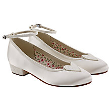 Buy Rainbow Club Minnie Bridesmaids' Shoes, Ivory Online at johnlewis.com
