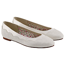 Buy Rainbow Club Cecily Bridesmaids' Shoes, Ivory Online at johnlewis.com
