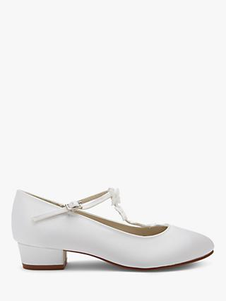 Rainbow Club Lolly Bridesmaids' Shoes, White