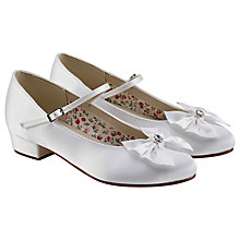 Buy Rainbow Club Honey Bridesmaids' Shoes, White Online at johnlewis.com