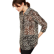 Buy Mint Velvet Bibi Print Shirt, Multi Online at johnlewis.com