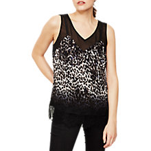 Buy Mint Velvet Ellen Print Lace Camisole, Multi Online at johnlewis.com