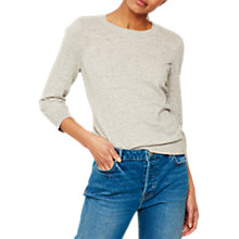 Buy Mint Velvet Simple Crew Jumper Online at johnlewis.com