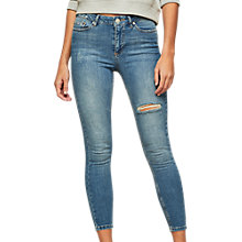 Buy Miss Selfridge Lizzie Jeans, Blue Online at johnlewis.com