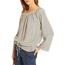 Buy Gerard Darel Charla Blouse, Blue Online at johnlewis.com