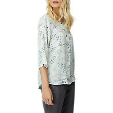 Buy White Stuff Birgitta Print Top, Ice Blue Online at johnlewis.com