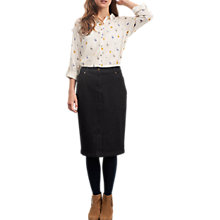 Buy White Stuff Susie Denim Skirt, Dark Denim Online at johnlewis.com