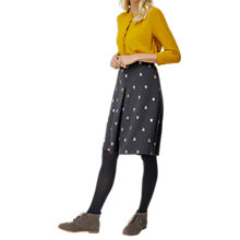Buy White Stuff Amsterdam Embroidered Skirt, Bretton Grey Online at johnlewis.com