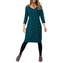 Buy White Stuff Tess Jersey Dress, Green Online at johnlewis.com
