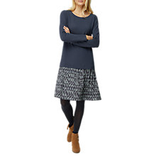 Buy White Stuff Miriam Jersey Dress, Bretton Grey Online at johnlewis.com