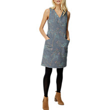 Buy White Stuff Megan Structured Embroidered Dress, Bretton Grey Online at johnlewis.com