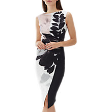 Buy Coast Drake Print Scuba Shift Dress, Multi Online at johnlewis.com