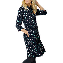 Buy White Stuff Bow Shirt Dress, Navy Online at johnlewis.com