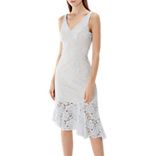 Buy Coast Lachena Lace Shift Dress, Mint Online at johnlewis.com