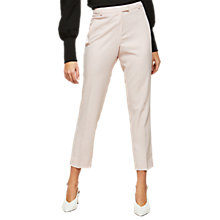 Buy Miss Selfridge Cigarette Trousers, Powder Blush Online at johnlewis.com