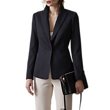 Buy Reiss Rio Textured Blazer, Night Navy Online at johnlewis.com