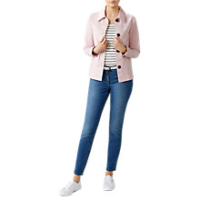 Buy Pure Collection Soft Washed Cotton Jacket Online at johnlewis.com