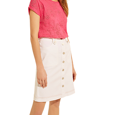 Gerard Darel Albane Skirt, White