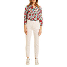 Buy Gerard Darel Mia 7/8 Trousers, White Online at johnlewis.com