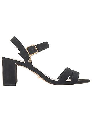 Dune Meggan Block Heel Sandals