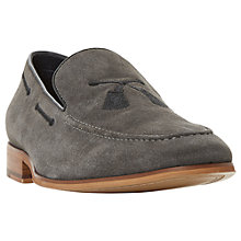 Buy Dune Penry Suede Tassel Embroidered Loafers Online at johnlewis.com