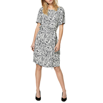 Selected Femme Gramma Printed Dress, Birch