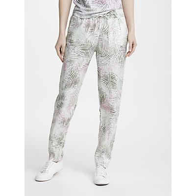 Gerry Weber Print Linen Trousers, Multi