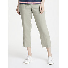 Buy Gerry Weber Cropped Linen Trousers Online at johnlewis.com