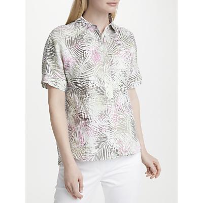 Gerry Weber Printed Linen Shirt, Multi