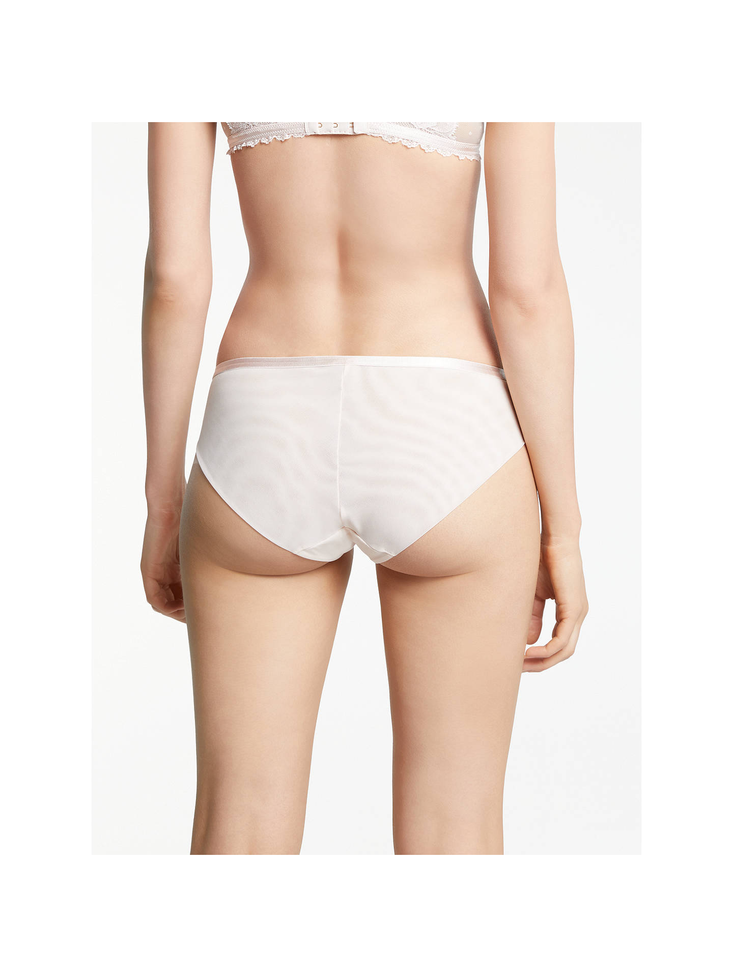 BuyAND/OR Arabella Lace Briefs, Gossamer Pink, 8 Online at johnlewis.com