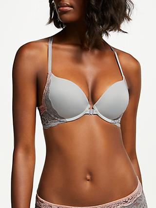 AND/OR Taylor Lace Detail Plunge Bra