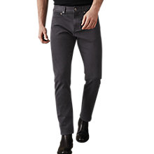 Buy Reiss Horris Slim Fit Jeans, Charcoal Online at johnlewis.com