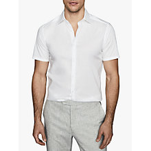 Buy Reiss Redmayne Slim Fit Short Sleeve Shirt Online at johnlewis.com