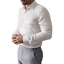 Buy Reiss Titan Linen Blend Slim Fit Shirt Online at johnlewis.com