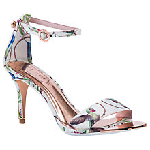 Buy Ted Baker Mavbe Highgrove Hummingbird Sandals, Multi Online at johnlewis.com