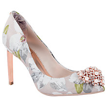 Buy Ted Baker Peetch Chatsworth Jacquard Court Shoes, Multi Online at johnlewis.com
