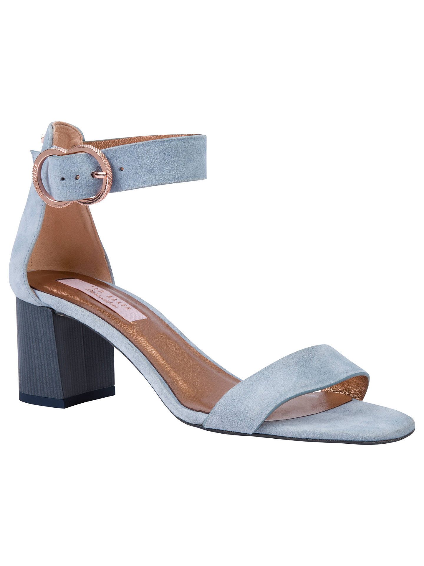 0d578cf4f15398 Ted Baker Qarvas Block Heel Sandals at John Lewis   Partners