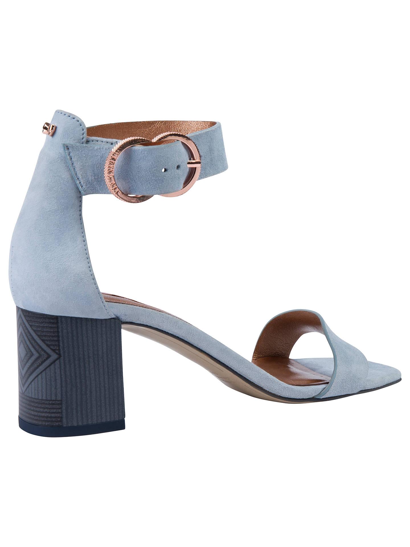 899a76cbcfedfd Ted Baker Qarvas Block Heel Sandals at John Lewis   Partners