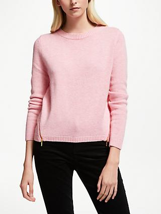 Collection WEEKEND by John Lewis Zip Front Crew Sweater