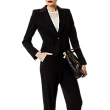 Buy Karen Millen Tailoring Collection Jacket, Black Online at johnlewis.com