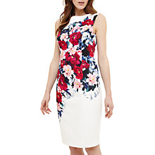 Buy Phase Eight Cassia Floral Printed Dress, Ivory/Multi Online at johnlewis.com