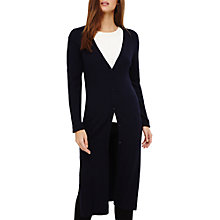 Buy Phase Eight Lynn Longline Cardigan, Navy Online at johnlewis.com