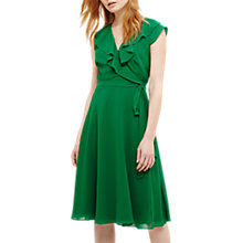 Buy Phase Eight Allegra Wrap Dress, Emerald Online at johnlewis.com