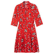Buy Gerard Darel Floral Robe Dress, Red Online at johnlewis.com